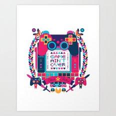 FOTOGRAMAS / GAME AIN'T … Art Print