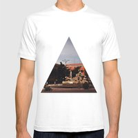 Cibeles Mens Fitted Tee White SMALL