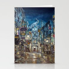 Breach to Diagon Alley Stationery Cards