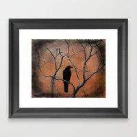 Nature Blackbird Framed Art Print