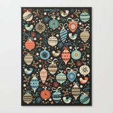Festive Folk Charms Canvas Print