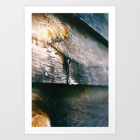 Displaced Art Print