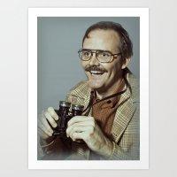I.am.nerd. :: Danforth F… Art Print