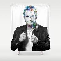 Chris Pratt Shower Curtain