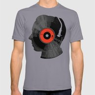 The Song In My Head Mens Fitted Tee Slate SMALL