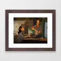 Elementary - new years! Framed Art Print
