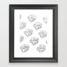comfortinrepetition Framed Art Print