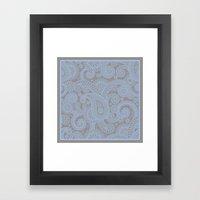 Paisley Mist Framed Art Print