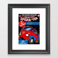 spidervan Framed Art Print