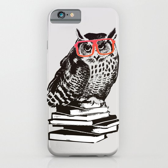 The smart owl iPhone & iPod Case