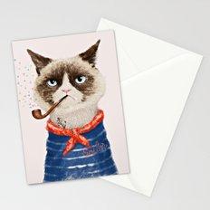 Sailor Cat V Stationery Cards