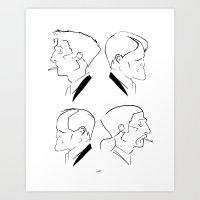 Hart & Cohle 95-12 Art Print