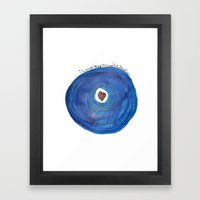 I Love Your Record Collection Framed Art Print