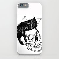 Elvis Skull iPhone 6 Slim Case