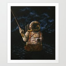 Alone(And Loving It) Art Print
