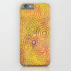 rainbow drizzle iPhone 6 Slim Case