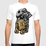 T-shirt featuring Daft Droids by Jonah Block