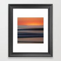 cesmare - seascape no.09 Framed Art Print