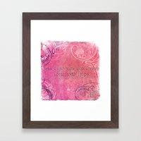Cupid Kills - Shakespeare Love Quote - Much Ado Framed Art Print