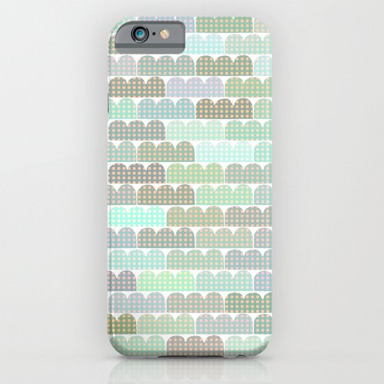 blue things behind the sun iPhone & iPod Case