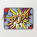 POP Art Exclamation Laptop Sleeve