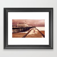 Brighton's Grand Pier  Framed Art Print