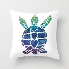 Turtle Island Throw Pillow