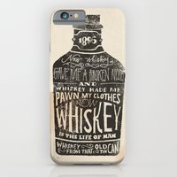 iPhone Cases featuring Whiskey by Jon Contino
