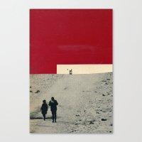 es* Canvas Print