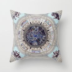 Spanish Ceiling Throw Pillow