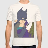 The childhood hero Mens Fitted Tee Natural SMALL