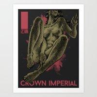 Crown Imperial Art Print