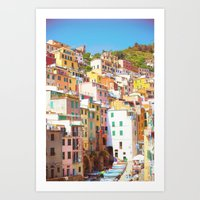 italy Art Prints featuring Italy by Giorgio Fochesato