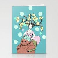 Purr Hairdresser Stationery Cards