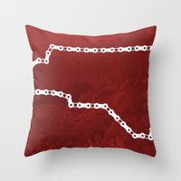 Ride Statewide - North C… Throw Pillow