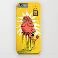 iPhone & iPod Case featuring Nine Lives of Shame by Davel F. Hamue