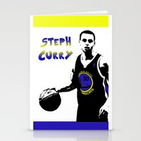 Stephen Curry Golden Sta… Stationery Cards
