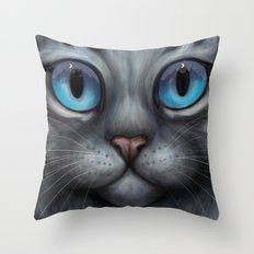 Feathertail Throw Pillow