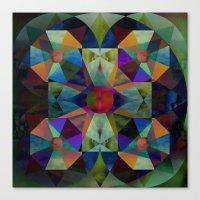 Instant Mandala Canvas Print