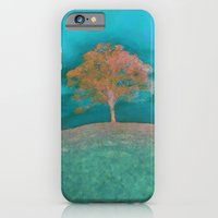 iPhone & iPod Case featuring ABSTRACT - solitary tree by Valerie Anne Kelly