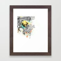 V.C.M. Framed Art Print