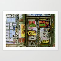 One Night Only Art Print