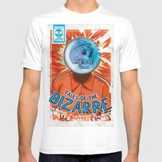 Tales of the Bizarre SMALL White Mens Fitted Tee