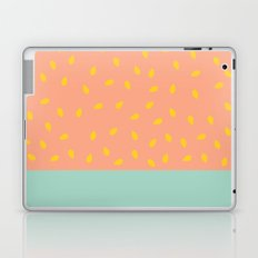 Peach Fuzz and Pit Laptop & iPad Skin