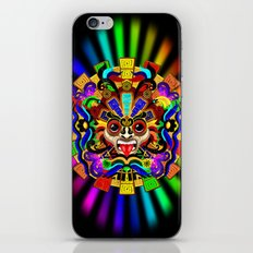 Aztec Warrior Mask iPhone & iPod Skin