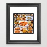Food Of Italy Framed Art Print