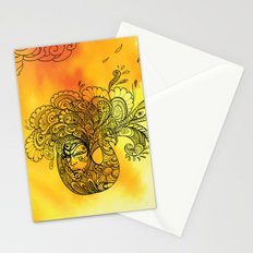 PEACOCKS CAN FLY Stationery Cards