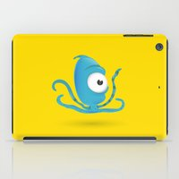 Octopus Blue/Yellow iPad Case