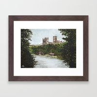Durham View Framed Art Print