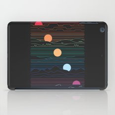 Many Lands Under One Sun iPad Case